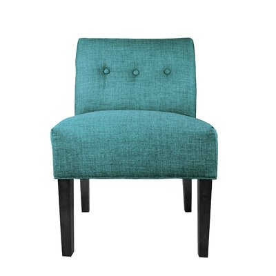 Key Largo Slipper chair Upholstery: Teal