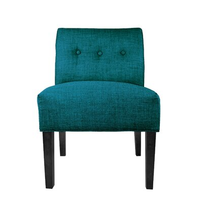 Key Largo Slipper chair Upholstery: Zenith Teal