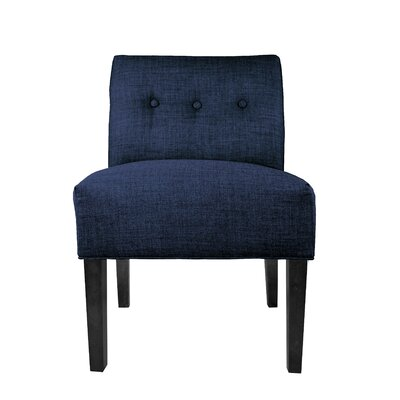 Lucky Slipper Chair Upholstery: Denim