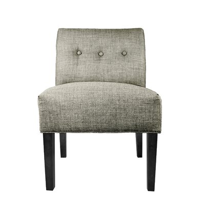 Lucky Slipper Chair Upholstery: Platinum