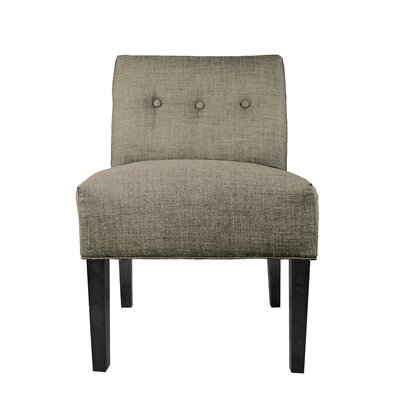 Dawson 7 Slipper chair Upholstery: Brindle