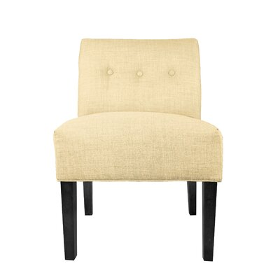 Dawson 7 Slipper chair Color: Pismo