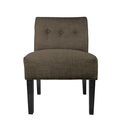 Dawson 7 Slipper chair Color: Sterling