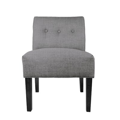 Obsession Slipper chair Upholstery: Gray