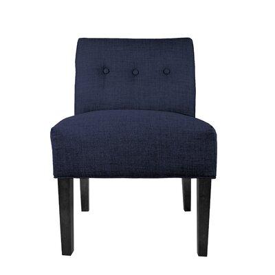 Obsession Slipper chair Color: Indigo