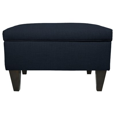 Dawson Legged Box Storage Ottoman Color: Eclipse