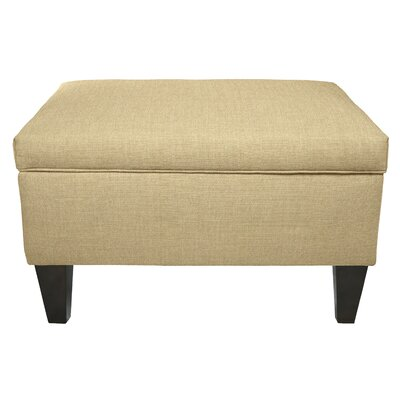 Dawson Storage Ottoman Color: Pismo