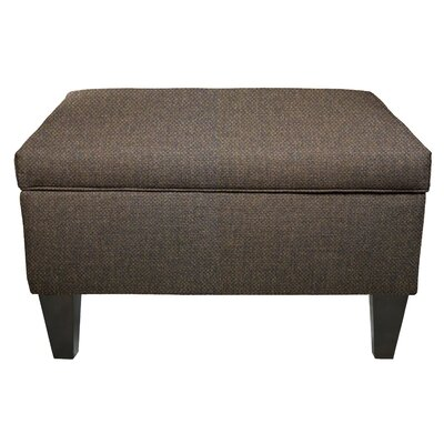 Dawson Storage Ottoman Color: Sterling