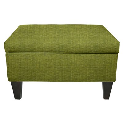 Key Largo Legged Box Storage Ottoman Color: Grass