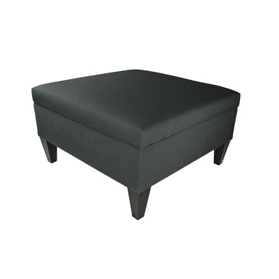 Allure Legged Box Storage Ottoman