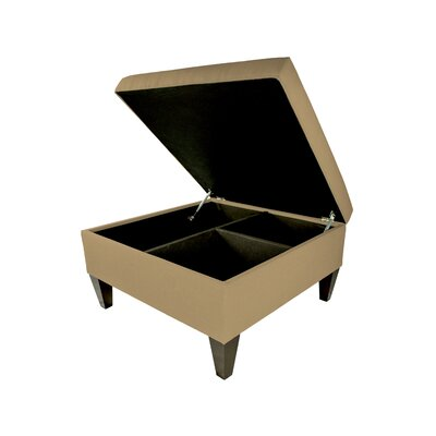 Allure Storage Ottoman Color: Pebble