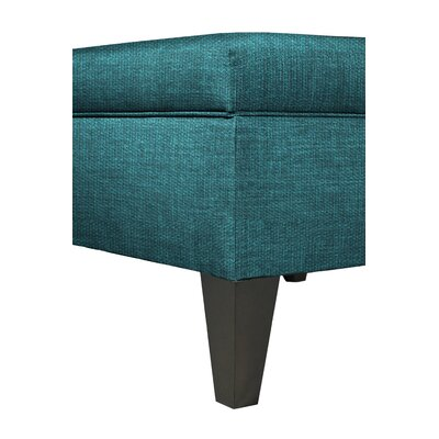 Key Largo Storage Ottoman Color: Zenith-Teal