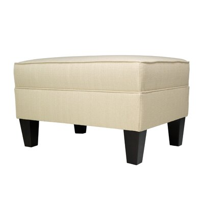 Madison Storage Ottoman Upholstery: Beige