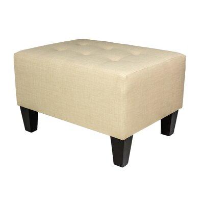 Milo Ottoman Upholstery: Beige