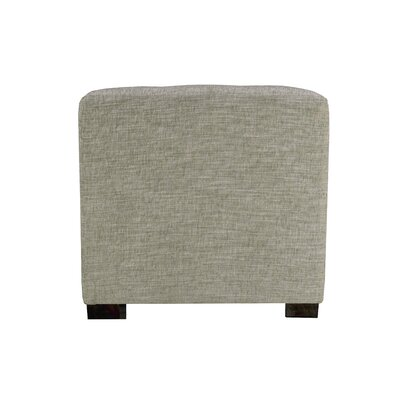 Lucky Cube Ottoman Upholstery: Platinum