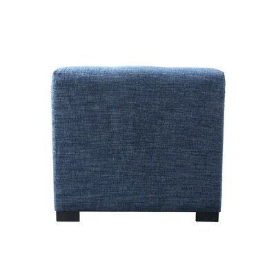 Key Largo Cube Ottoman Upholstery: Denim