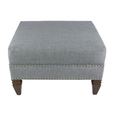 Kara Upholstered Ottoman Upholstery: Gray
