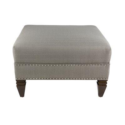Kara Upholstered Ottoman Upholstery: Tan
