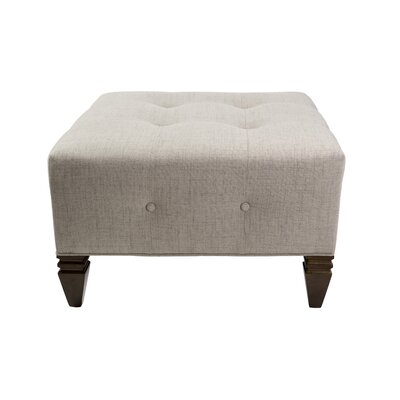 Holt Square Ottoman Upholstery: Cafe