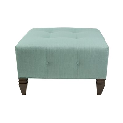 Hobson Cocktail Ottoman Upholstery: Lagoon