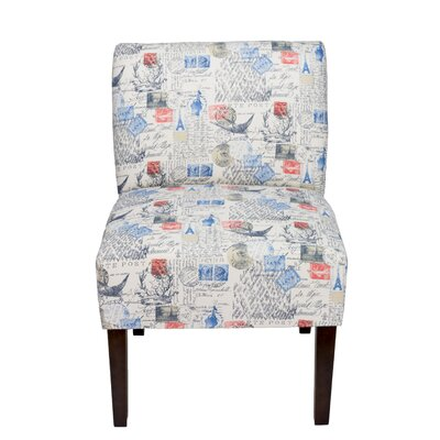 Brannan Primary Natural Slipper Chair
