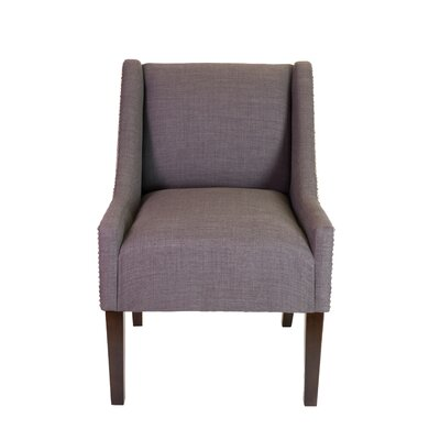 Earlston Wingback Chair Upholstery: Gray Reddish