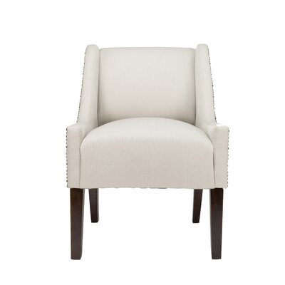 Earlston Wingback Chair Upholstery: Beige