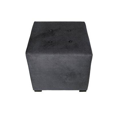 Merton Obsession Cube Ottoman Upholstery: Indigo