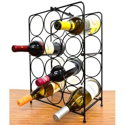Napoli 12 Bottle Tabletop Wine Rack