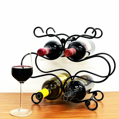 Florence 6 Bottle Tabletop Wine Rack