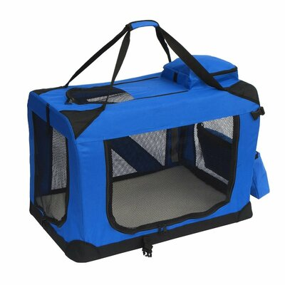 "Pet Carrier Size: 20"" H x 20"" W x 27.5"" L, Color: Red PCRED02L"