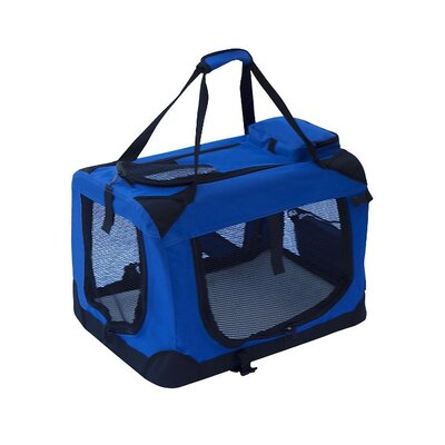 "Pet Carrier Size: 20"" H x 27.5"" W x 20"" D, Color: Red PCRED02L"