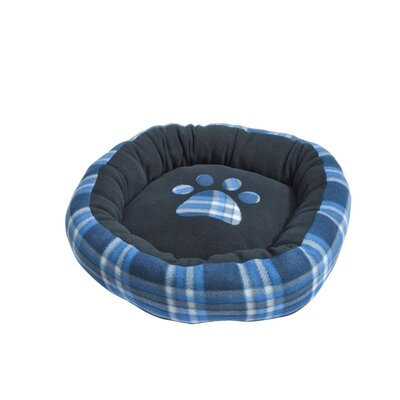 Plaid Polar Fleece Bolster