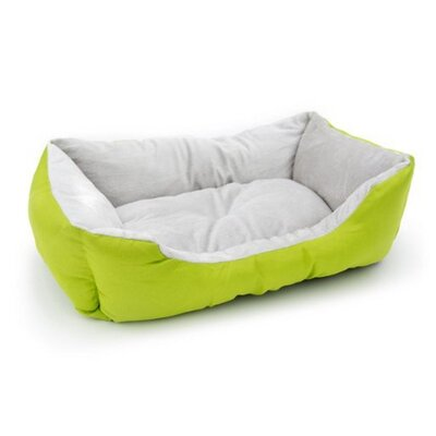 Melody Soft Plush Pet Cushion Bolster Color: Green