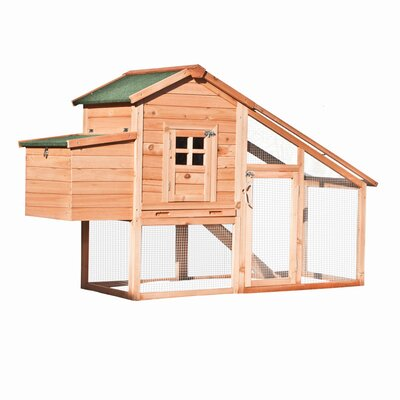 Wooden Pet House Poultry Hutch