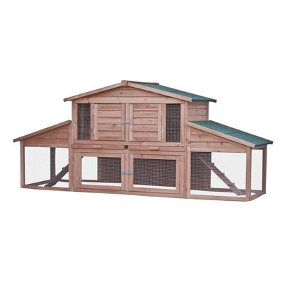 Isaiah Wooden Pet House Poultry Hutch