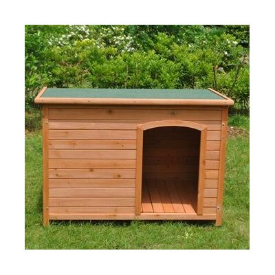 Pine Weatherproof Dog House