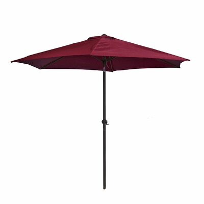 9 Market Umbrella Color: Burgundy