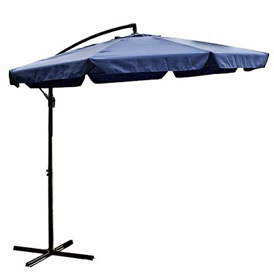 10 Cantilever Umbrella Color: Blue