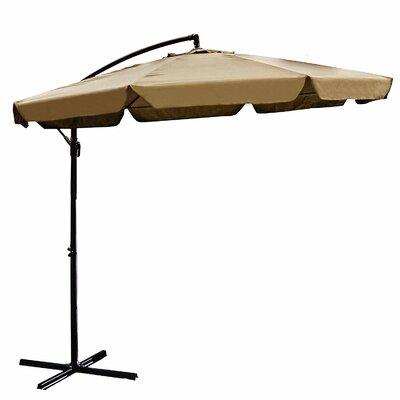 Image of 10' Cantilever Umbrella Color: Sand