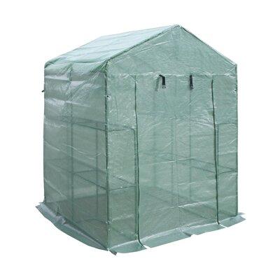 4.6 Ft. W x 4.6 Ft. D Hobby Greenhouse GH57X57X77