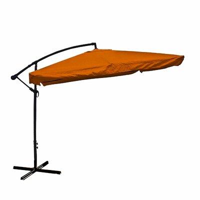 Image of 10' Cantilever Umbrella Color: Orange