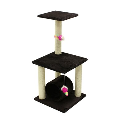 33 Condo Scratching Post Furniture Pet House Exercise Tree Cat Tree