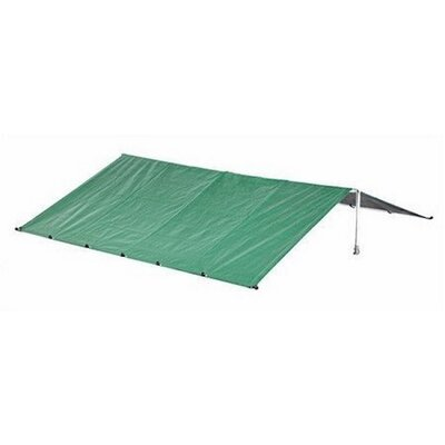 Merritt Waterproof Dog Kennel Roof Cover with Aluminum Grommets Size: 19.6 H x 120 W x 120 D, Color: Green