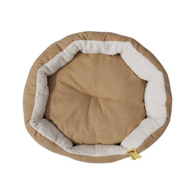 Micah Soft Plush Cushion Pet Bolster for Dogs and Cats