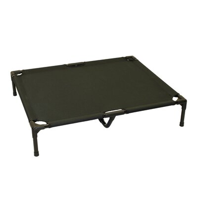 Metts Elevated Steel Frame Pet Cot Color: Black