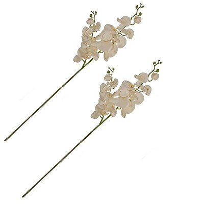 Small Artificial 2 Branches Orchid Stem HOHM8495 44250342