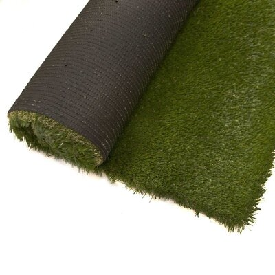 Jenny Artificial Garden Grass Green Indoor/Outdoor Area Rug Rug Size: Rectangle 4 x 6