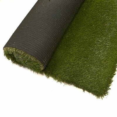 Martha Artificial Garden Grass Green Indoor/Outdoor Area Rug Rug Size: Runner 3 x 12