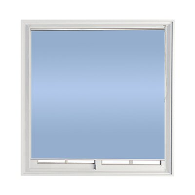 Semi-Sheer Indoor/Outdoor Roll-Up Shade Color: Blue